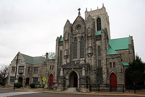 St. Mary's Episcopal Cathedral (Memphis, Tennessee) - Diocesan House, Cathedral, and Sisters' Chapel