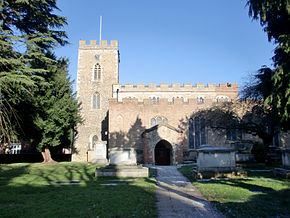 St Andrew's Parish Church, Enfield Town - geograph.org.uk - 1690580.jpg