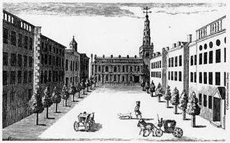 St Ann's Church, Manchester - St Ann's Square 1745
