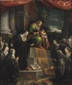St Anne and the Infant St Mary (Leandro Bassano) - Nationalmuseum - 17081.tif