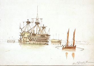 HMS San Josef (1797) - Image: St Josef Hamono