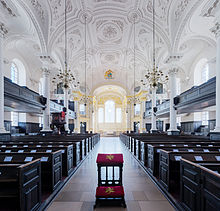 Interior Of St Martin In The Fields