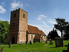 St Mary's Church at Hamstead Marshall (Benham Marsh) - geograph.org.uk - 6233.jpg
