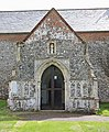 St Mary, Aldeby, Norfolk - Porch - geograph.org.uk - 1482493.jpg