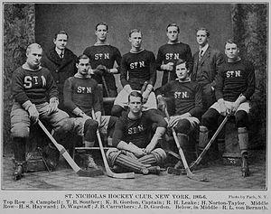 St. Nicholas Hockey Club - St. Nicholas HC in 1905–06.