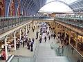 St Pancras railway station concourse - DSC08190.JPG