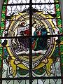 St Petrus und Paulu Bellenberg - Fensterbild Krönung Mariens.JPG