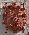 St Trudpert Konventsgebäude Hoftor Wappen des Konvents.jpg