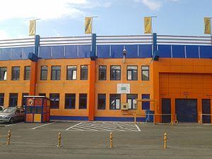 Stadionul Ceahlăul - Image: Stadionul Ceahlăul exterior