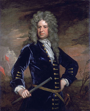 Stafford Fairborne - Admiral Sir Stafford Fairborne by Godfrey Kneller