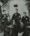 Stamen Panchev with his classmates in Kyustendil.png
