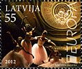 Stamps of Latvia, 2012-11.jpg