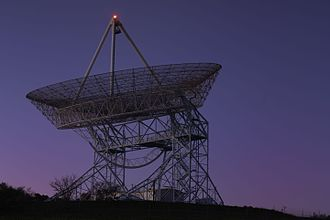 The Dish (landmark) - The Stanford Dish in the early morning hours.
