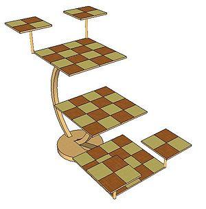 Three-dimensional chess - The Tri-D chessboard