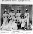 StateLibQld 1 106464 Bride Mrs Herbert Brown and her five attendants, Brisbane, ca. 1895.jpg