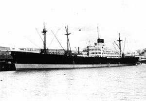 English: Stenton (ship) Blue Funnel Line.