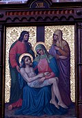 Station 13 Jesus' body is removed from the cross, St. Nicholas Church in Elbl?g.JPG