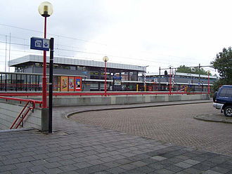 Bergen op Zoom railway station - Image: Stationbergen 1
