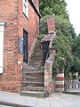 Steep steps by Steep Hill, Lincoln - geograph.org.uk - 950638.jpg
