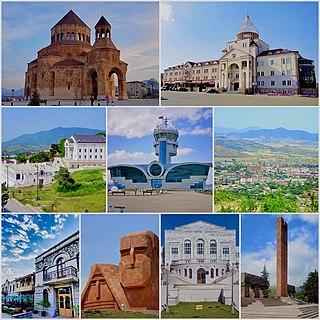 Stepanakert Capital of Nagorno-Karabakh