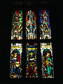 Stephansdom stained-glass window (mediaval) - Wien Museum Karlsplatz - 4 (photo by Andrew Nash).jpg
