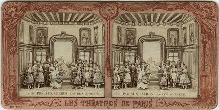 Stereokort, Le Pré aux Clercs 1, Les amis de Nicette - SMV - S85a.tif