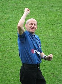 Steve Coppell led the Blasters into the 2016 ISL finals. Steve coppell 2006 promotion celebration cropped.JPG