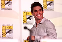 Steven R. Mcqueen 2012 på Comic-Con International i San Diego, Kalifornien.