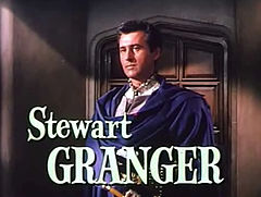 Stewart Granger in Young Bess trailer.jpg
