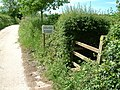 Stile at Combe Lancey, Devon - geograph.org.uk - 448089.jpg