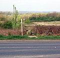 Stile beside A426, Stockton - geograph.org.uk - 1259708.jpg