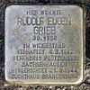 Stolperstein Eichborndamm 24 (Reind) Rudolf Eugen Grieb.jpg