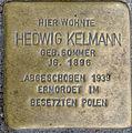 Stolperstein Remscheid Bismarckstraße 60 Hedwig Kelmann.jpg