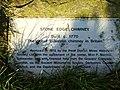 Stone Edge Chimney Plaque. - geograph.org.uk - 296110.jpg