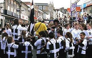 Cornish mythology - Celebrating St Piran's Day in Penzance