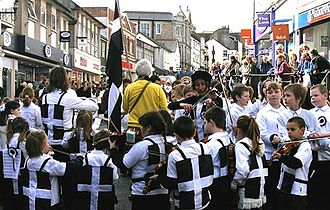 Cornish people - St. Piran's Day is an annual patronal Cornish festival celebrating Cornish culture and history every 5 March.