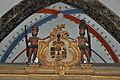Stralsund, Nikolaikirche, Schwedenloge, Wappen (2012-12-29), by Klugschnacker in Wikipedia.jpg