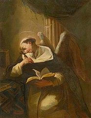 Kneeling Meditating Saint