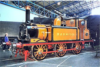 Box Hill & Westhumble railway station - Boxhill is preserved as part of the National Collection at the National Railway Museum.