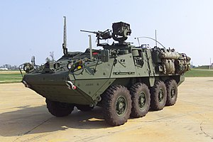 Reconnaissance vehicle - United States Army M1127 Reconnaissance Vehicle