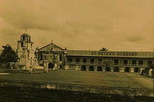 Polangui, Albay - Sts. Peter and Paul Parish Church (circa 1966)