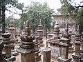 Stupas at Lingyan Si.jpg