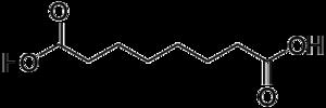 Suberic acid - Image: Suberic acid