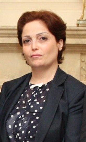 Suheir Atassi - Image: Suheir al Atassi (cropped)