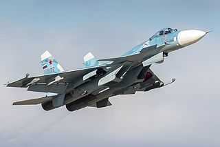 Sukhoi Su-33 Carrier-based interceptor version of the Su-27 fighter aircraft