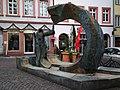 Sume-Brunnen Heumarkt Heidelberg-Altstadt.JPG