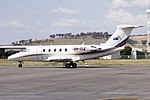 Sundyne Pty Ltd (VH-SSZ) Cessna 650 Citation III parked on the tarmac at Wagga Wagga Airport.jpg