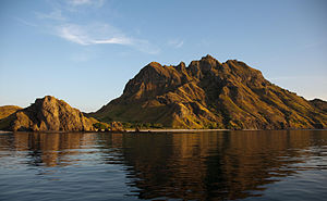 East Nusa Tenggara - Komodo, one of the small islands in this province.