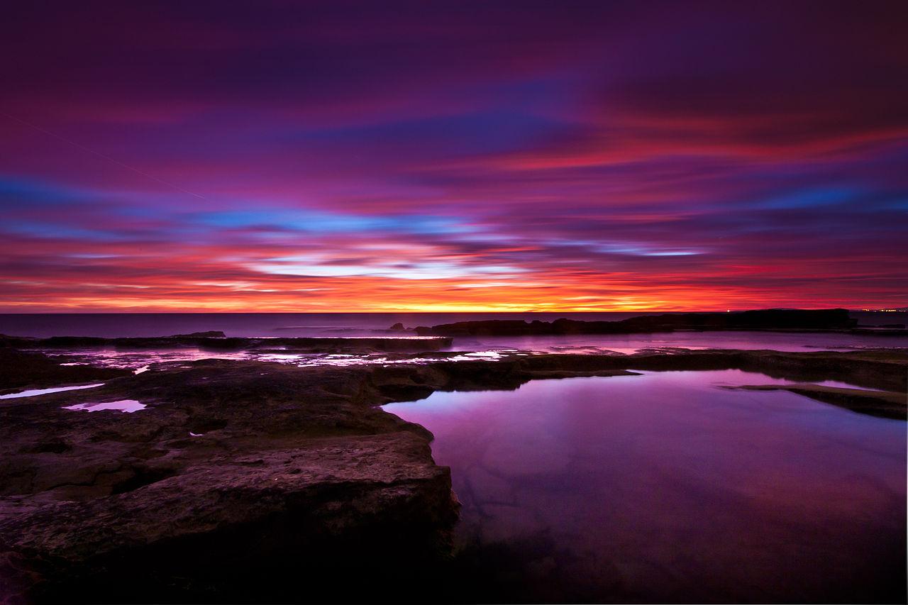 File Sunset On The Coast Of Llucmajor Mallorca 4 Jpg