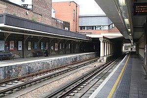 Surrey Quays railway station - Image: Surrey Quays station